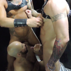 Adam Russo, Hugh Hunter, & Dolf Dietrich