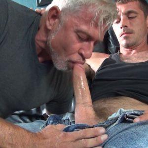 Brett Bradley gives Peter Fulton what he wants