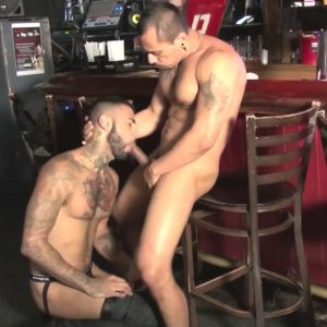 Rikk York takes Romero Santos' Dick Raw