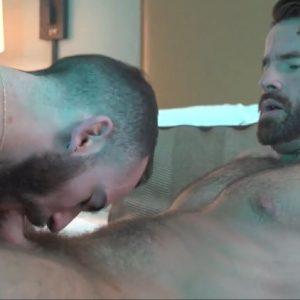 Stephen Harte helps out Brendan Patrick