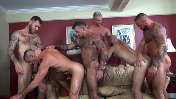 Double Decadence Gang Bang Part 1