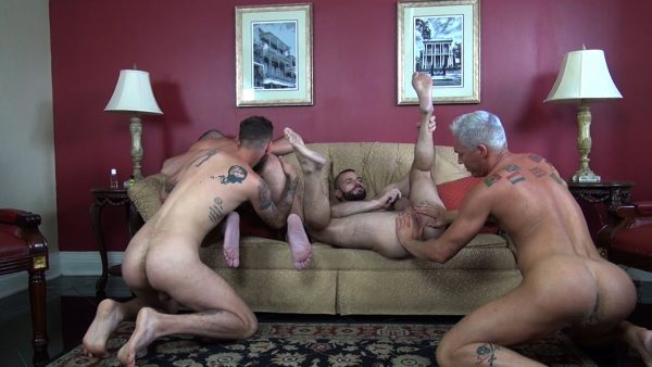 Double Decadence Gang Bang Part 2