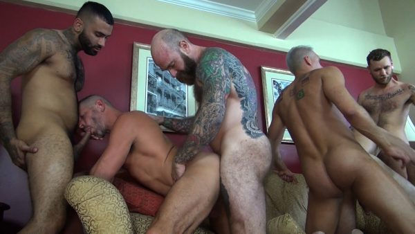 Double Decadence Gang Bang Part 3
